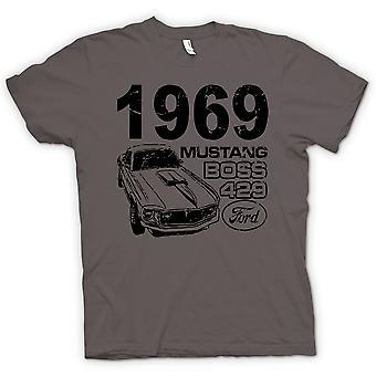 Camiseta para hombre - 1969 Mustang Boss 429 - clásico U.S. coche