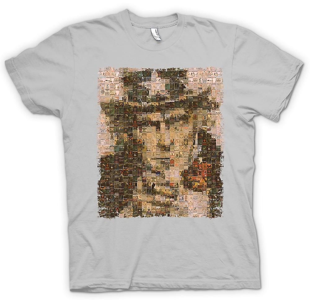 Mens T-shirt - I Want You - War Poster Collage - US War