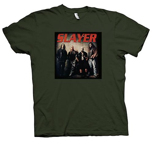 Camiseta para hombre - Slayer - Heavy Metal banda