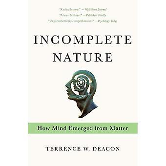Unvollständige Natur: Wie Geist von Materie entstanden