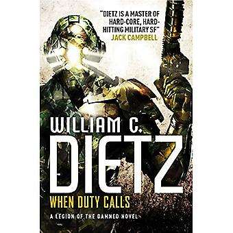 When Duty Calls (Legion of the Damned 8)