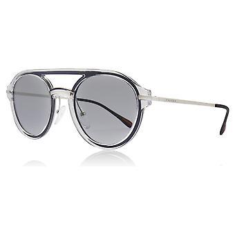 Prada Sport PS05TS 1KP4Q1 Crystal PS05TS Oval Sunglasses Lens Category 1 Size 51mm