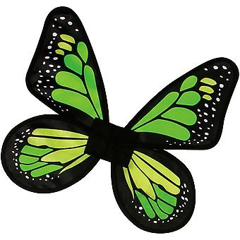 Vleugels Butterfly satijn Ch groen