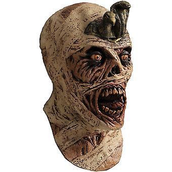 Maldita máscara de momia para Halloween