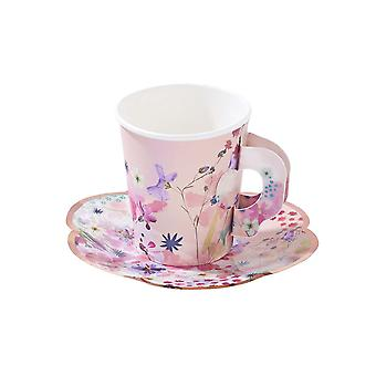 Blossom Girls Cup & Untertasse Set - nachmittags-Tee-Party