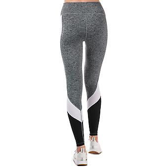 Womens Slazenger Vision Colourblock Leggings In Charcoal Marl