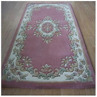 Rugs -Mahal Aubusson - Rose