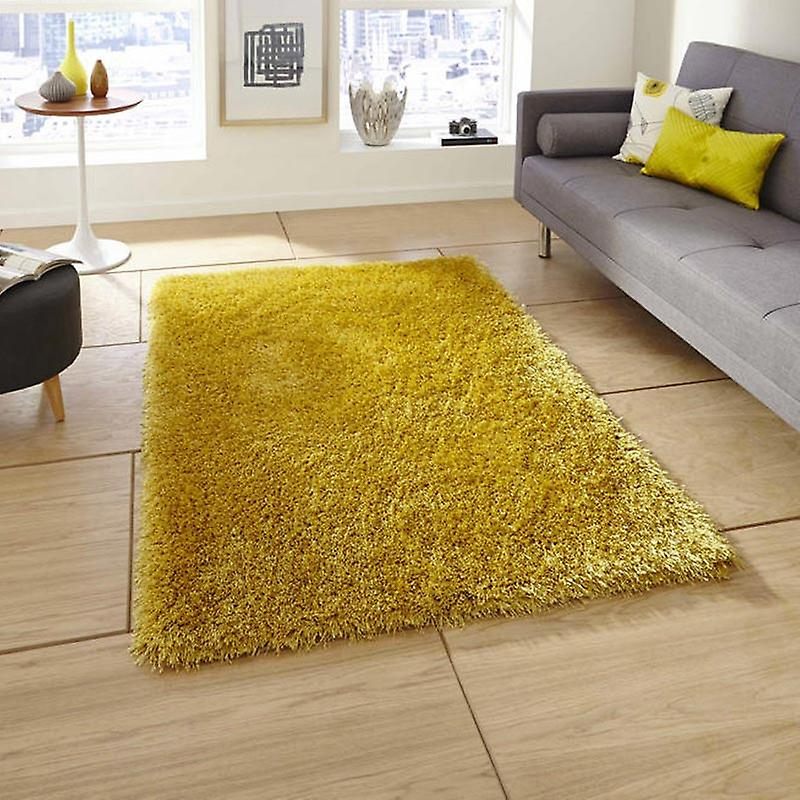 Rugs - Monte Carlo Shaggy - Yellow