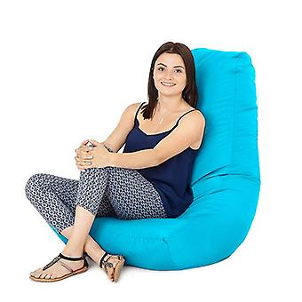 Turquoise Water Resistant Outdoor Gaming Bean Bag Highback Lounger Chair