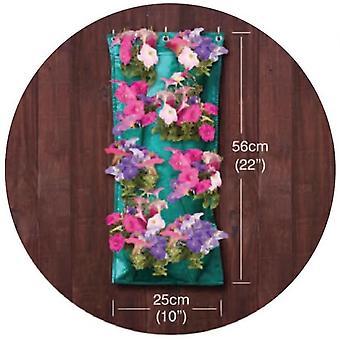 Hanging Herbs & Flowers Grow Bag Garland Flower Sleeve Growing out Door Garden