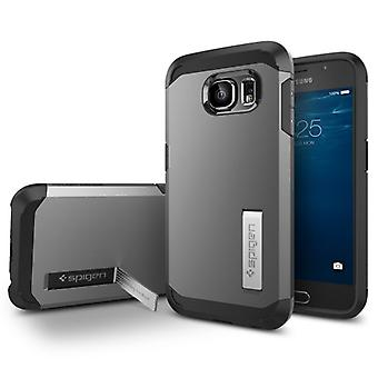 Spigen Samsung Galaxy S6 Case Tough Armor Series Gunmetal