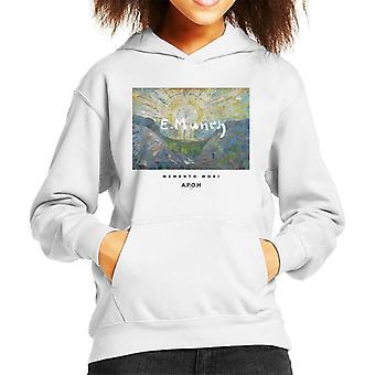 A.P.O.H Munch Momento Mori Kid's Hooded Sweatshirt