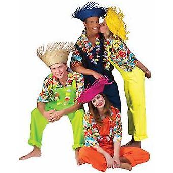 Slacks Unisex Costume Garden Pantaloni Blue Man Ladies e Costume da uomo