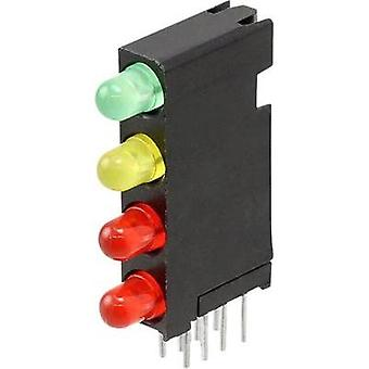 LED component Green, Red, Yellow (L x W x H) 24 x 14.35 x 4.32 mm Dialight
