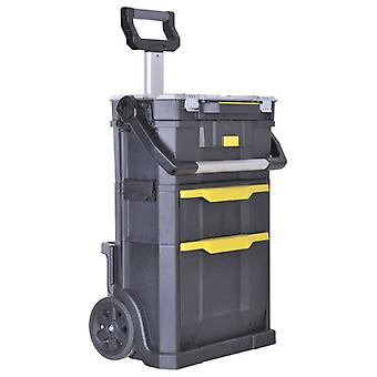 Stanley modular mobile workshop and toolbox 2 in 1