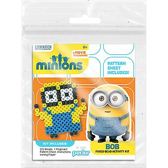 Perler Minions Fused Bead Kit-Bob MTK80-52989