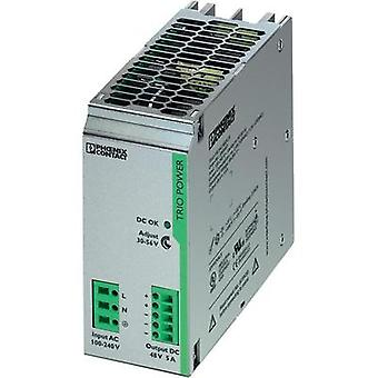 Rail mounted PSU (DIN) Phoenix Contact TRIO-PS/1AC/48DC/5 48 Vdc 5 A 240 W 1 x