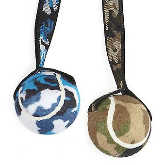 Tennis Ball & Camo Strap Assorted (Pack of 6)