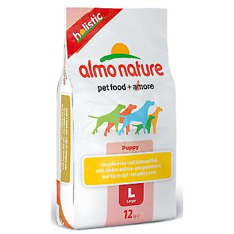 Almo Nature Holistic Dog Large Puppy Chicken & Rice 12kg