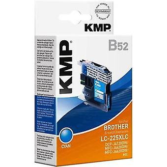 KMP Ink replaced Brother LC-225XLC Compatible Cya