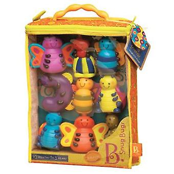 B. Set of 9 animals Snug gs (Toys , Preschool , Babies , Bathing Toys)