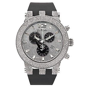 Joe Rodeo diamond men's watch - BROADWAY Silver 5 ctw