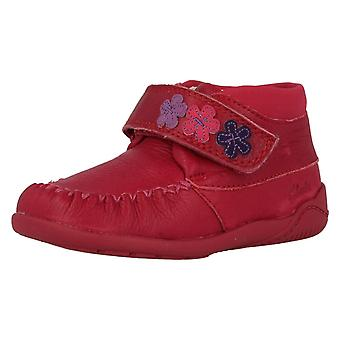 Girls Clarks First Shoes 'Litzy Fleur' Ankle Boots