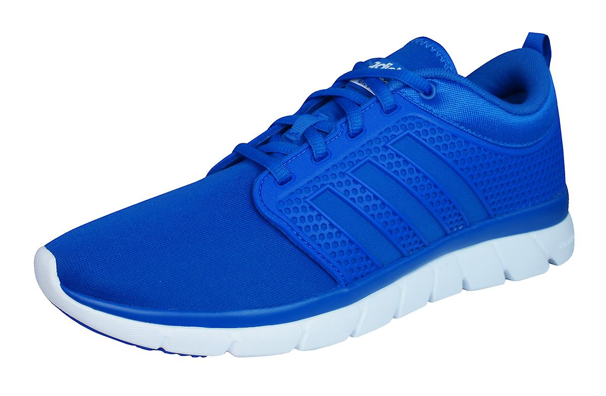 adidas Trainers Neo Cloudfoam Groove Mens Running Trainers adidas / Shoes - Blue 4218bd