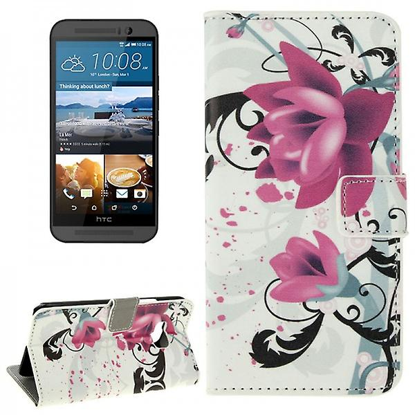 Cover wallet pattern 3 for HTC one 3 M9 2015