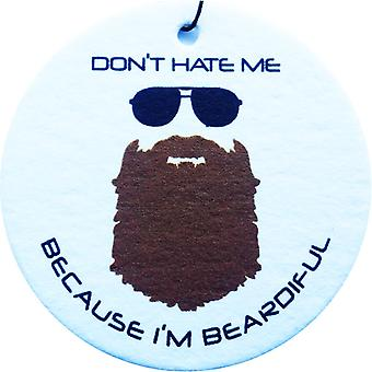Beardiful - Brown Car Air Freshener