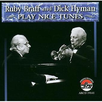 Braff/Hyman - Play Nice Tunes [CD] USA import