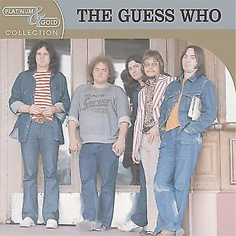 Guess Who - Platinum & Gold Collection [CD] USA importeren