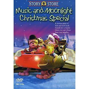 Importer de la musique & Moonlight Noël spécial USA [DVD]