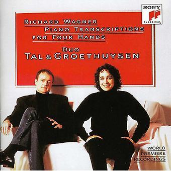 & Groethuysen Tal - Richard Wagner-Klavier-Transkriptionen für vier Hände [CD] USA import