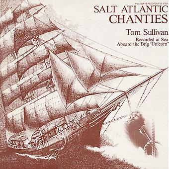Tom Sullivan - Salt atlantisk Chanties [DVD] USA import
