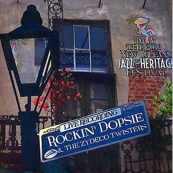 Rockin ' Dopsie - Live på Jazzfest 2013 [CD] USA import