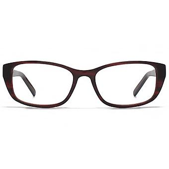 Carvela Rectangle Glasses In Red