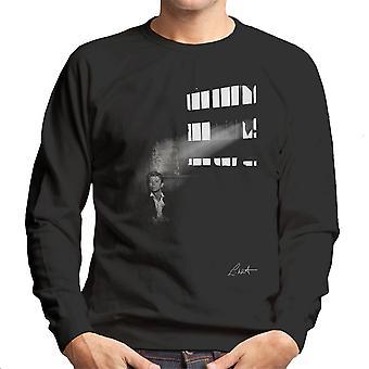 David Bowie i Edinburgh 1990 mænds Sweatshirt