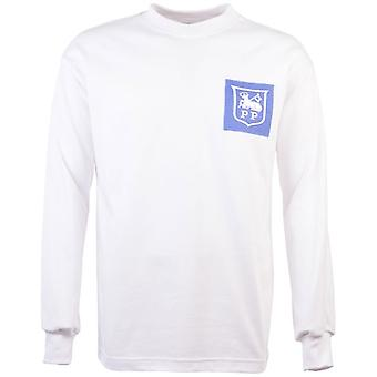 Preston North End 1970s maglia di calcio retrò