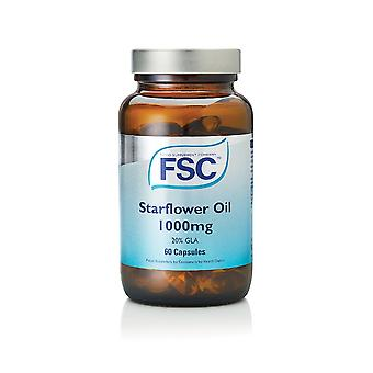 FSC Starflower Oil 1000mg , 60 Capsules