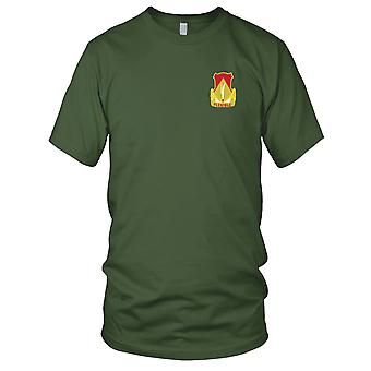 US Army - 94th Field Artillery Battalion Embroidered Patch - Mens T Shirt