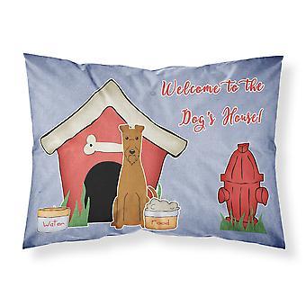 Dog Haus Sammlung Irish Terrier Stoff Standard Kissenbezug