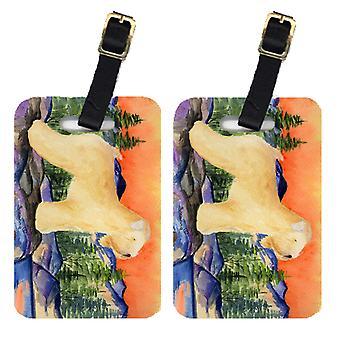 Каролинских сокровища SS8182BT пара 2 пшеничный терьер мягким покрытием Камера Теги