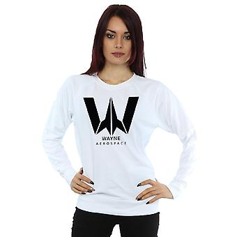 DC Comics kvinnors Justice League filmen Wayne Aerospace Sweatshirt