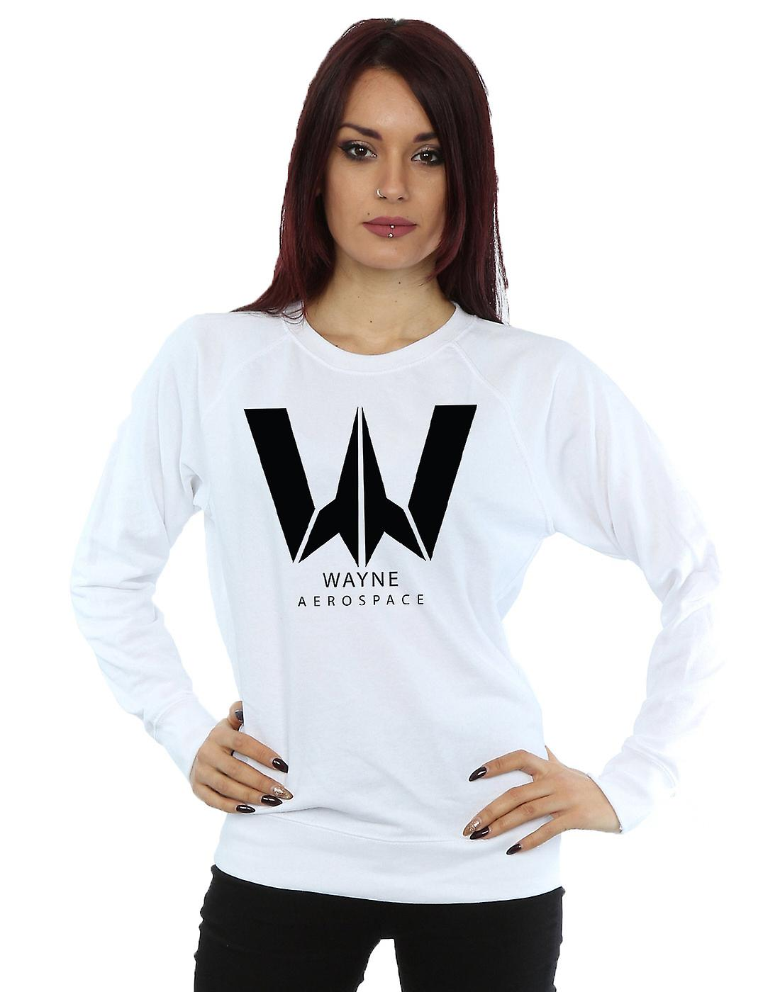 DC Comics Women's Justice League Movie Wayne Aerospace Sweatshirt