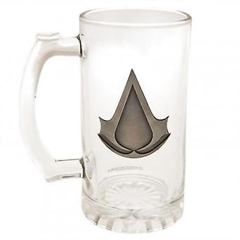 Assassins Creed Glass Tankard