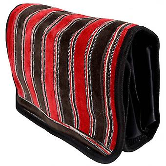 Bown of London Ely Wash Bag - Red/Brown