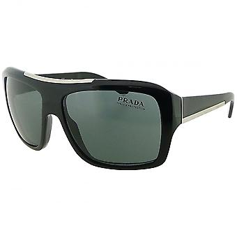 Prada Prada Black Square Sunglasses With Grey Tinted Lenses