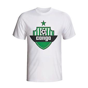 Congo Country Logo T-shirt (white) - Kids