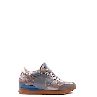 Philippe model ladies MCBI238043O light blue leather of sneakers